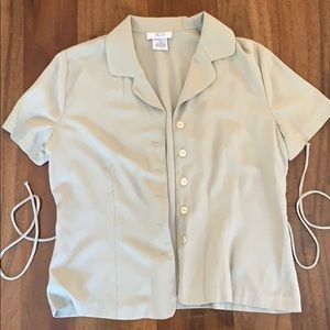 AGB Button Down Blouse